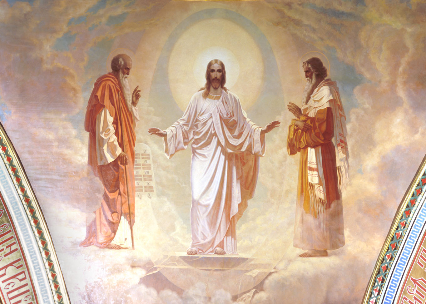 THE HOLY TRANSFIGURATION OF OUR LORD, dans immagini sacre Preobrawenie